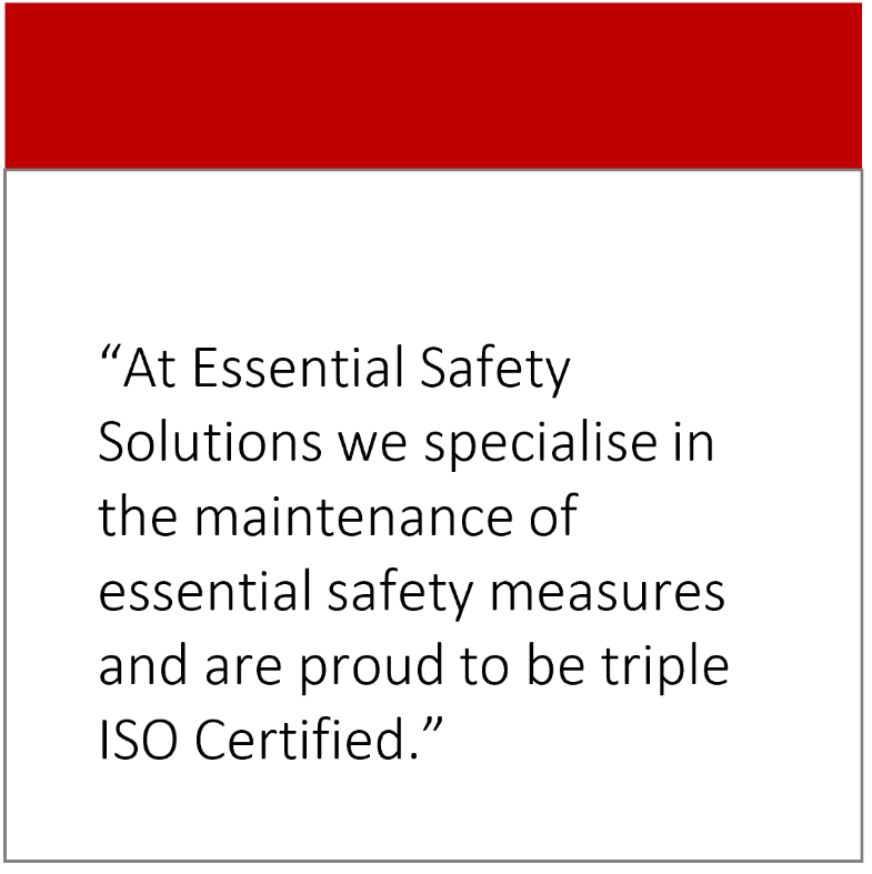 Why ISO certification should be at the top of your list when choosing an essential safety service provider