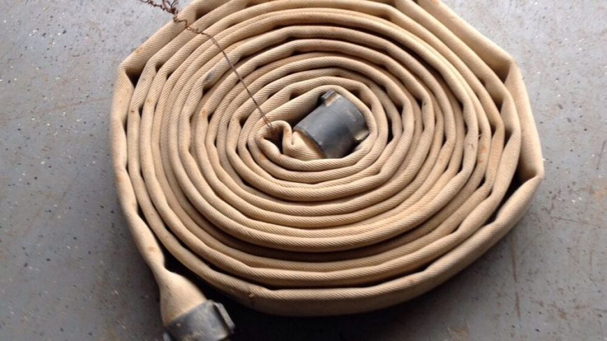 Canvas hoses, are they a thing of the past?